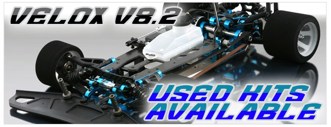 Wwe have 2 sets of Used Velox V8.2 kits available.